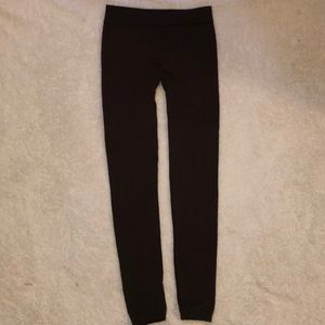 Hype leggings Brown Soft Comfy Size Small